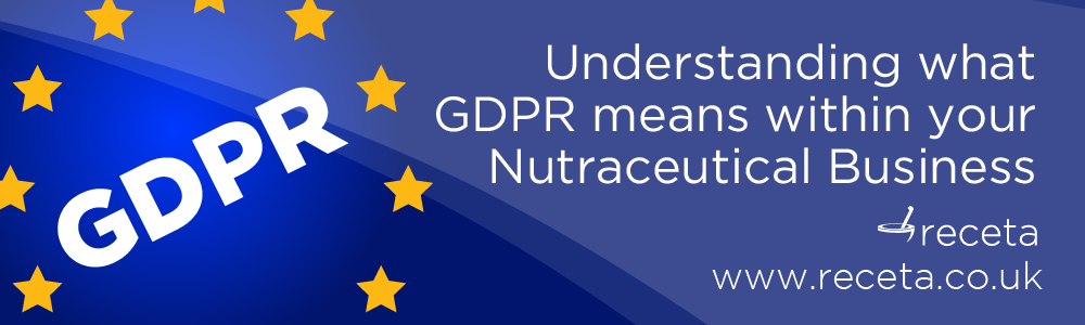 GDPR for Nutraceuticals